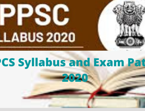 UPPCS Syllabus and Exam Pattern 2020 :